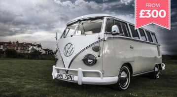 vw wedding camper for hire in glasgow