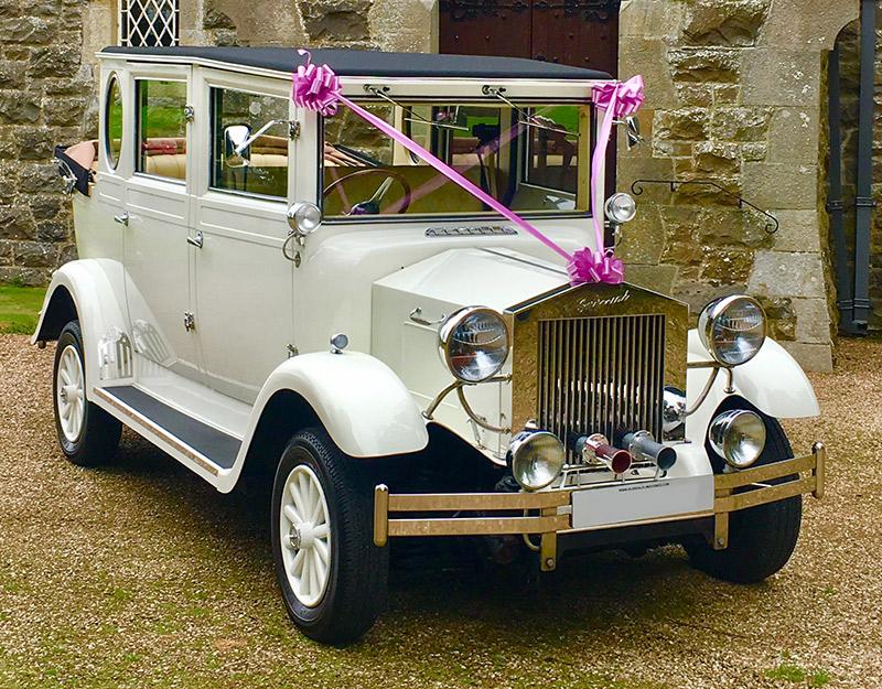 Imperial regent wedding car in glasgow.