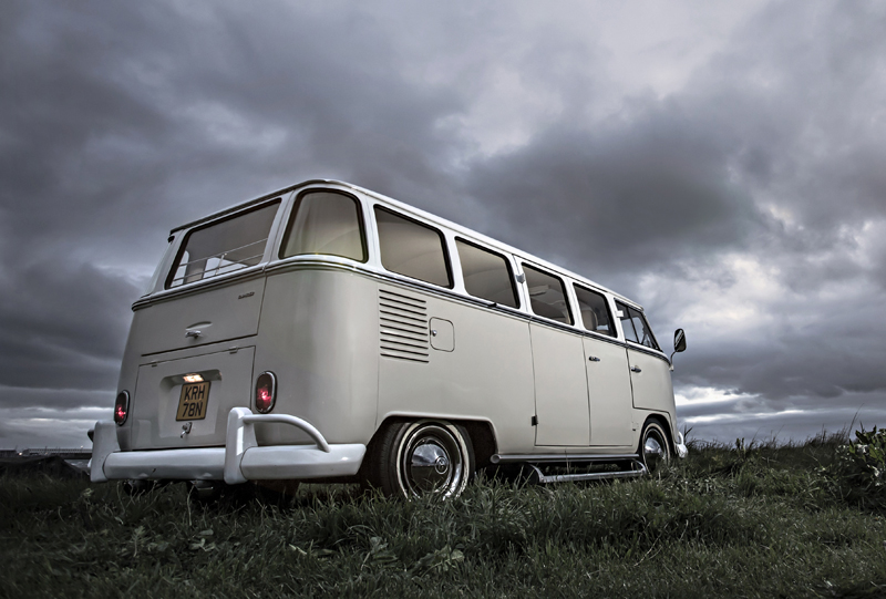 vw camper - wedding hire in glasgow