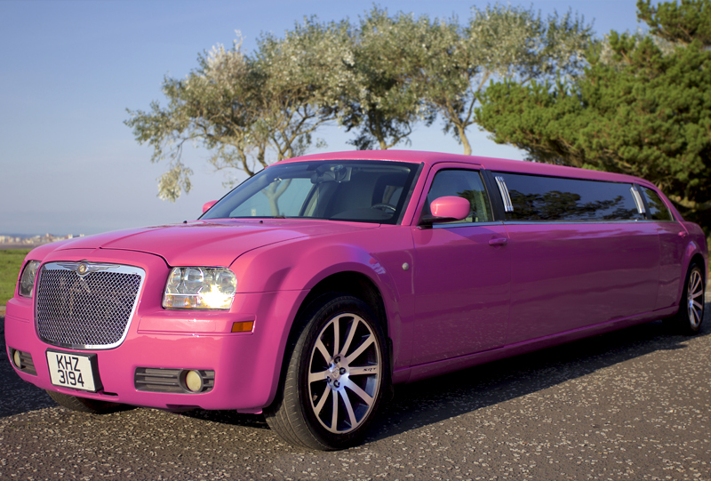pink limo hire glasgow