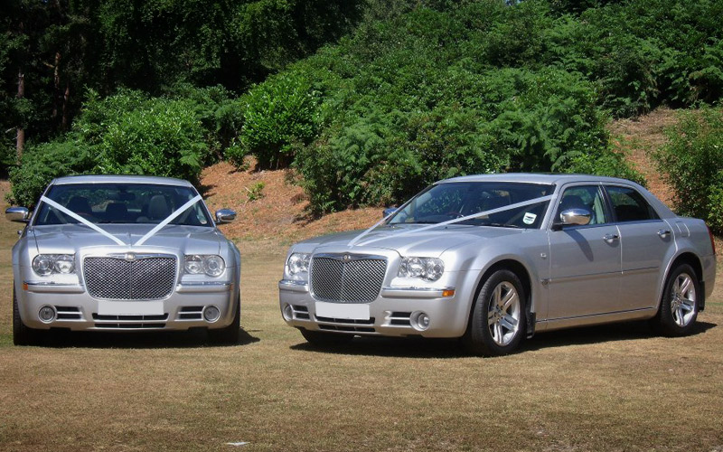 silver baby bentley wedding cars glasgow