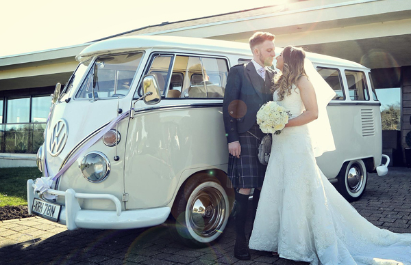VW Camper for weddings in Glasgow